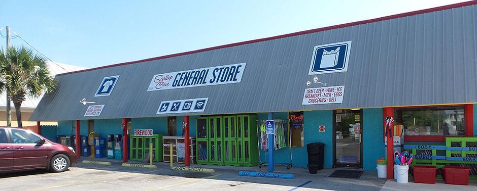 Scallop Cove General Store in Cape San Blas Florida