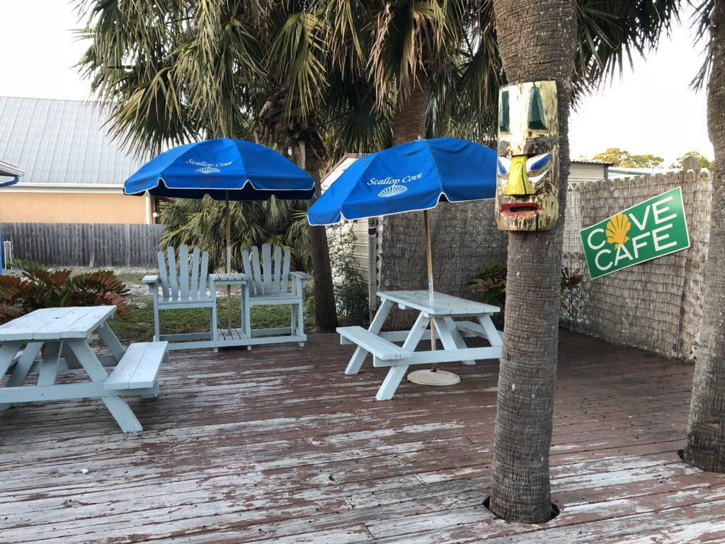 Scallop Cove Cafe Menu in Cape San Blas