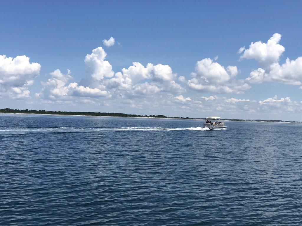 Rental Pontoon boat 3